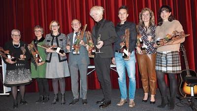 Michael Sele wurde mit dem Gonzen-Kulturpreis geehrt