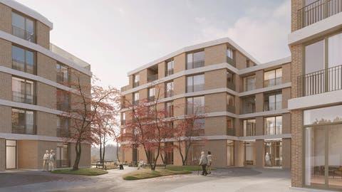 So soll sich das neue Pflegewohnheim präsentieren. (Visualisierung: Nightnurse Images)