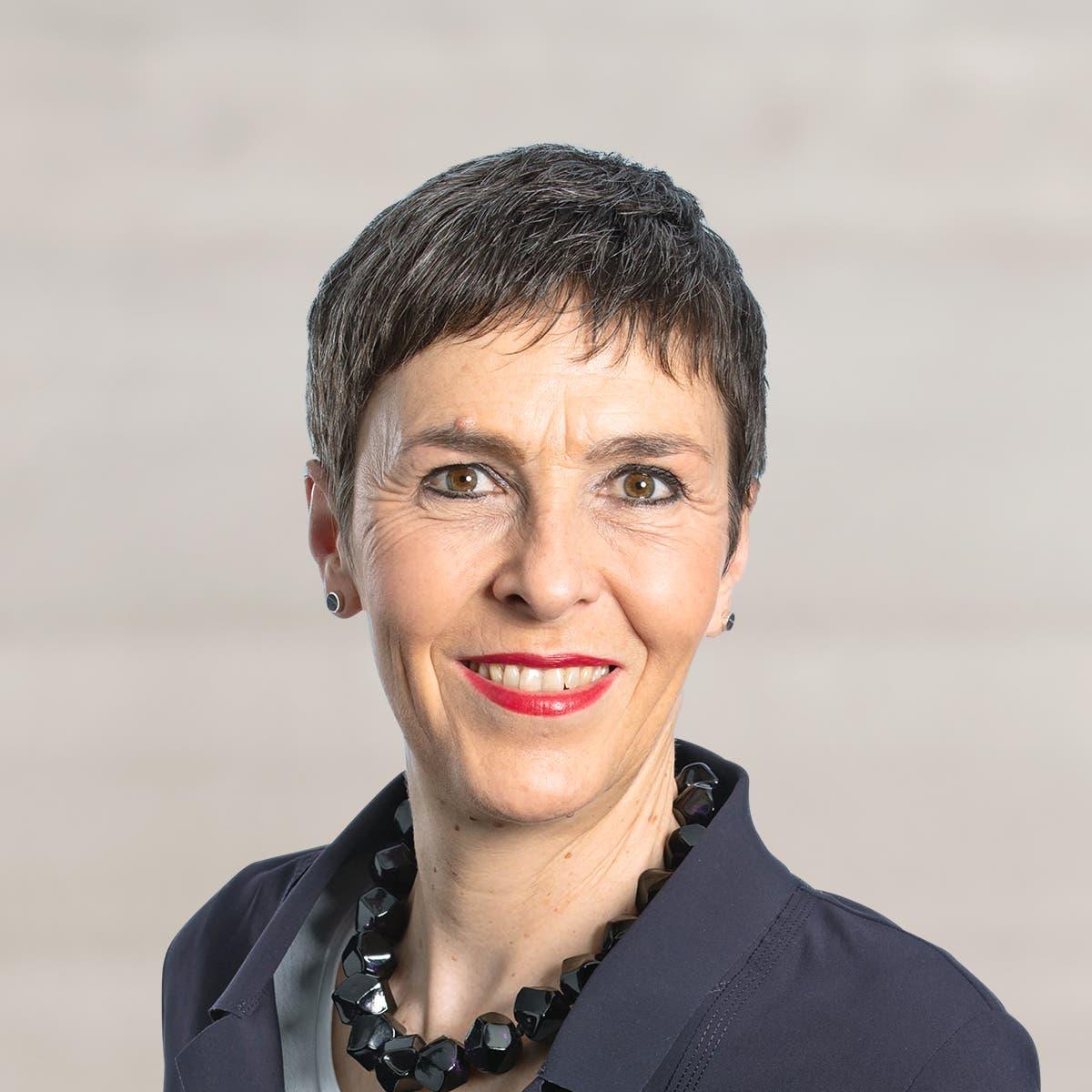 Barbara Gysi, St. Galler Nationalrätin. (Bild: Keystone)