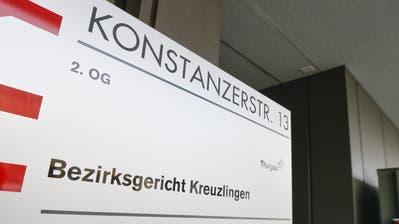 Das Bezirksgericht Kreuzlingen. (Bild: Donato Caspari)