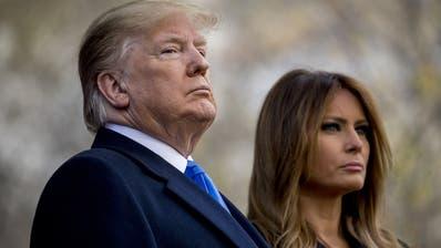 Können die Ermittlungsverfahren zur Amtsenthebung gefährlich werden für Trump? Angespannt ist die Stimmung in den USA auf jeden Fall schon. (Bild: Keystone)
