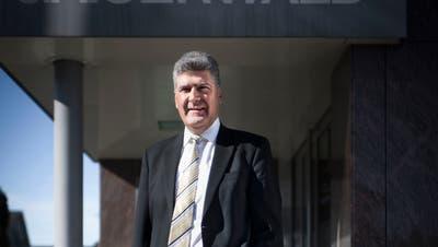 Boris Tschirky, Gemeindepräsident von Gaiserwald. (Bild: Benjamin Manser)