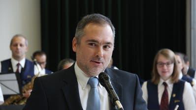 In der Kritik: Christian Sepin, Gemeindepräsident von Au. (Bild: Gert Bruderer)