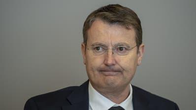 Thomas Burgherr, Aargauer SVP-Nationalrat. (Bild: Keystone)