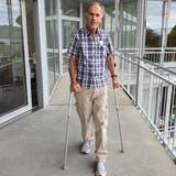 Peter Gubser meistert im Paraplegikerzentrum Nottwil (LU) Hürde um Hürde. (Bild: PD)