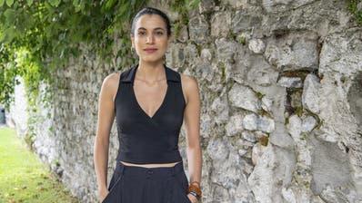 Zahraa Ghandour am Locarno-Filmfestival. (Bild: Urs Flüeler/Keystone, 19. August 2019)