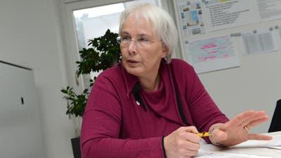 Marion Schafroth, die neue Präsidentin von Exit. (Bild: Keystone/Alexandra Wey)