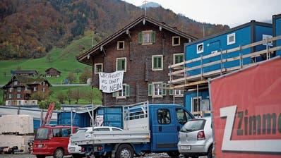 Hausbesitzer in Beckenried machen mobil gegen Pläne der Gemeinde