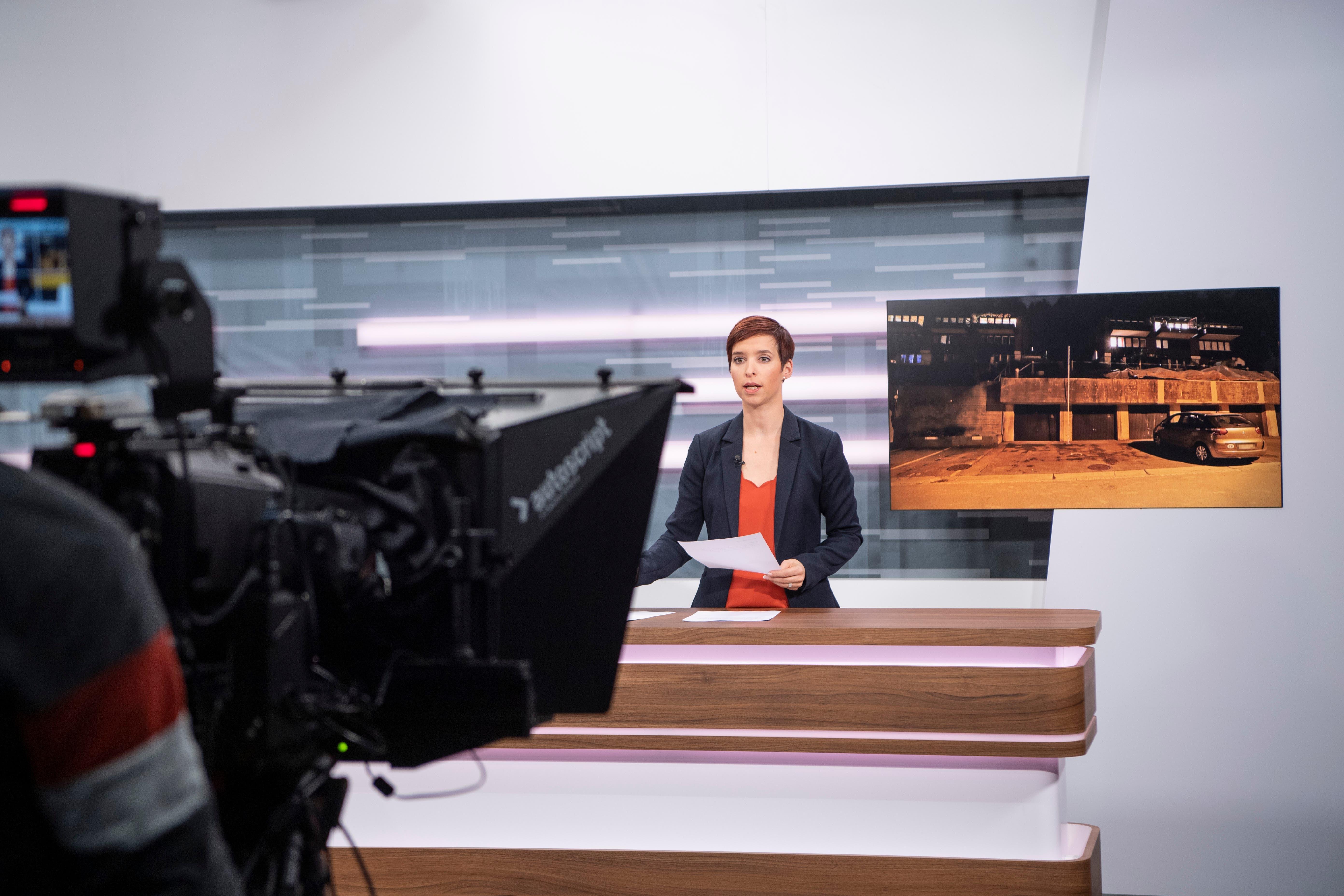 Das Regionalfernsehen TVO sendet neu ab der Fürstenlandstrasse in St.Gallen. (Bilder: Ralph Ribi)