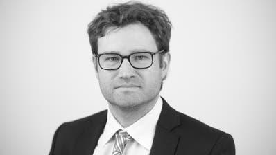 Stefan Schmid, Tagblatt-Chefredaktor. (Bild: Benjamin Manser)