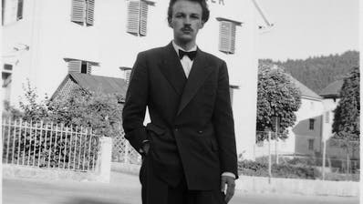 Francis Giauque am 13. Juli 1952 in Sonvilier. (Bild: PD)