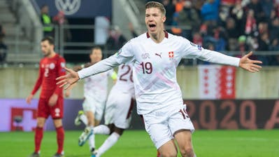 Dank Debütant Cedric Itten: Schweiz gewinnt das EM-Quali-Spiel gegen Georgien 1:0