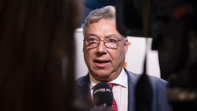 Bitteres Ergebnis: CVP-Ständerat Filippo Lombardi verliert seinen Sitz im Ständerat. (Bild: Keystone)