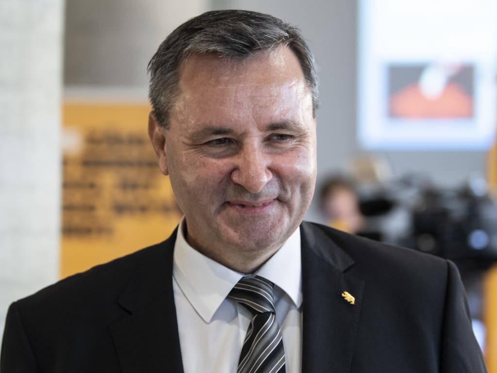 Werner Salzmann (SVP) ist neuer Berner Ständerat. (Bild: Keystone/Peter Schneider)