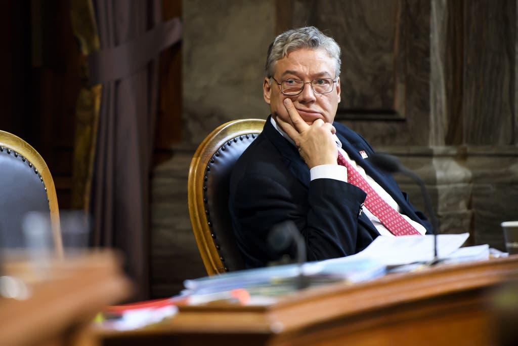 Filippo Lombardi wurde vom Tessiner Stimmvolk abgewählt. (Bild: keystone)