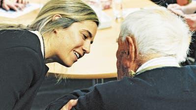 Der 104-jährige Australier David Goodall sagte kurz vor seinem Tod in der Schweiz: «Ich bin nicht krank.» (Bild: Martin Töngi, Liestal, 10. Mai 2018)
