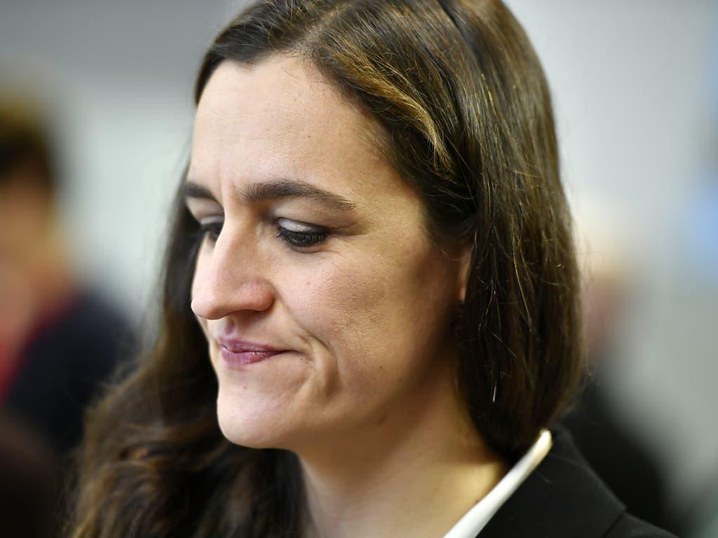 Enttäuschung bei der Grünen Kandidatin Marionna Schlatter. Sie wünschte sich eine weitere grüne Sensation. (Bild: KEYSTONE/WALTER BIERI)