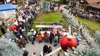 Gilt als einer der schönsten Adventsmärkte im Appenzellerland: Wienacht-Tobel. (Bild: APZ)
