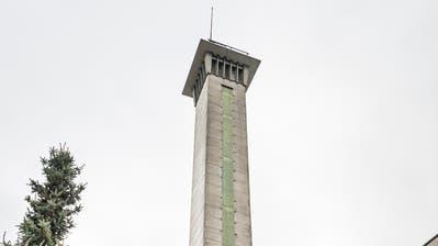 Seit 2001 ist der 45 Meter hohe Liftturm in Schlatt schon ausser Betrieb. (Bild: Andrea Stalder)