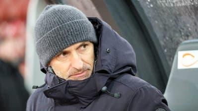 FCL-Trainer Thomas Häberli zur Zusammenarbeit mit Sportchef Remo Meyer: «Wir haben immer alles offen besprochen.» (Bild: Martin Meienberger/Freshfocus, Zürich, 30. Oktober 2019)