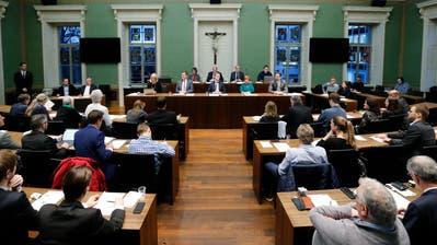 GGR Zug: Erste konstituierende Sitzung im Zuger Stadtparlament.  (Bild: Stefan Kaiser (Zug, 08. Januar 2019))