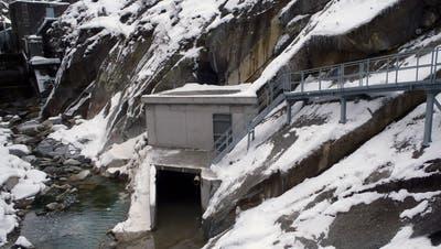 Das Dotierkraftwerk Urnerloch ist nun in Betrieb. (Bild: PD)