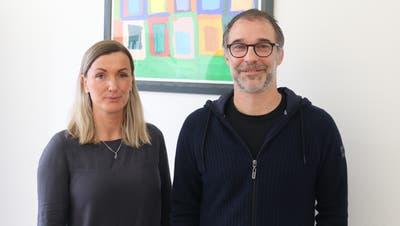 Diana van den Burg und Alex Kriesi übernehmen neu die Schulsozialarbeit der Sekundarschulen Affeltrangen und Tobel und betreuen zudem sechs Primarschulen. (Bild: PD)