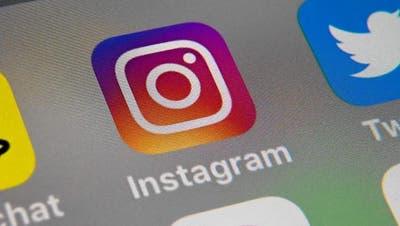 Das Instagram-Icon auf einem Smartphone-Bildschirm. (Bild: PD)