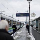 Die Gemeinde Schmerikon zieht wegen des Doppelspurausbaus zwischen Uznach und Schmerikon vor Bundesgericht. (Bild: Moritz Hager)