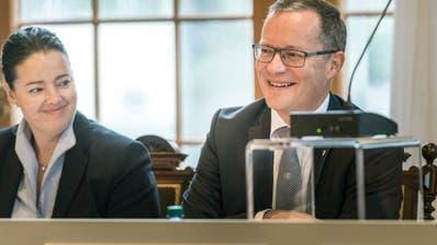 FDP-Regierungsrat Walter Schönholzer. (Bild: Andrea Stalder)