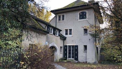 Die Villa Wolfensberg, Wohnhaus des verstorbenen Milliardärs Hugo Erb, in Winterthur. (Bild: PD)