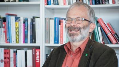 Hans Oppliger aus Frümsen, ein Pionier in der Landwirtschaft. (Bild: Ralph Ribi)