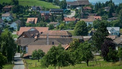 Blick auf das Dorf Braunau. (Bild: Reto Martin, Juli 2015)