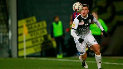 Der Wiler GoalgetterFilip Stojilkovic.(Marc Schumacher/Freshfocus)