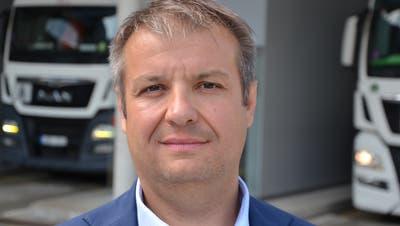 Sicherheitsdirektor Dimitri Moretti ist motiviert, eine zweite Amtszeit in der Urner Exekutive anzutreten. (Bild: Lucien Rahm, Erstfeld, 27. August 2019)