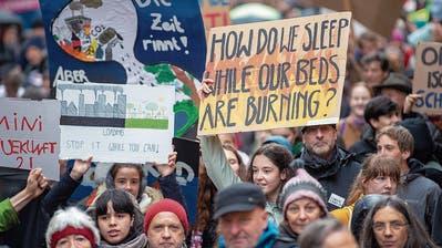 St.Galler Klimajugend ist gegen dritte Röhre