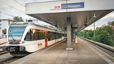 Der «Konstanzer» hat das Quartier Haggen den Viertelstundentakt gekostet.(Bild: David Gadze)