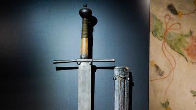 Das Richtschwert mit dem Margaretha Rümmel enthauptet wurde. (Bild: Donato Caspari)
