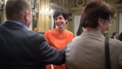 Die CVP St.Gallen hat am Freitagabend Susanne Hartmann als St.Galler Regierungsratskandidatin nominiert. (Bild: Benjamin Manser)