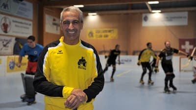 Trainer Carlos Sturla will die Qualität im Team auch im Spiel sehen. (Bild: Urs Hanhart, Seedorf, 30. September 2019)