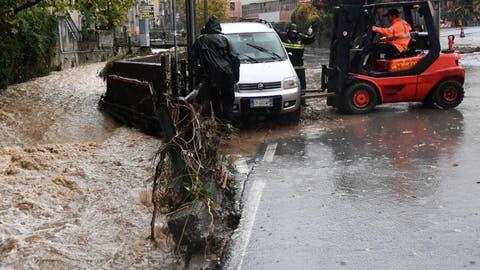 Wieder Überschwemmungen im Nordwesten Italiens