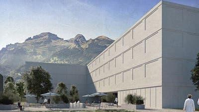 So könnte das neue Landesspital aussehen. (Bild: Liechtensteiner Vaterland)
