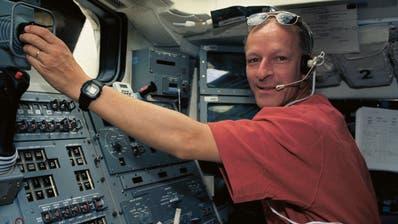 Der Schweizer Astronaut Claude Nicollier ist zu Gast in Zug. (Bild: PD)