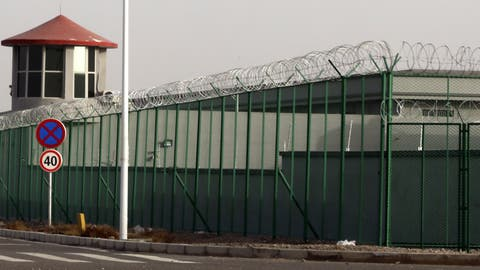 Ein Internierungslager für Uiguren in Xinjiang. (Bild: AP, 3. Dezember 2018)