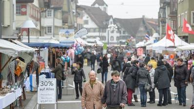 Impressionen vom Chläusler-Montag in Gossau