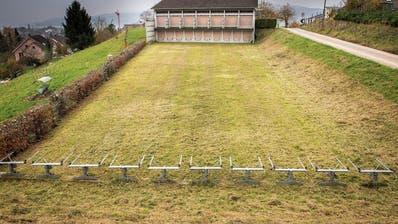 Das Steckborner Schützenhaus heute: Vom Obergeschoss wird auf 300 Meter gezielt, vom Erdgeschoss auf 50 Meter. (Bild: Reto Martin)