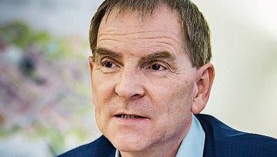 Peter Jans, St.Galler Stadtrat, Direktion Technische Betriebe. (Bild: Michel Canonica)
