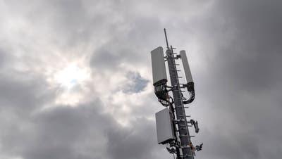 5G-Antennen sind ein hoch kontroverses Thema – das zeigte sich auch bei einer Diskussion in der Stadt St.Gallen. (Bild: Keystone)