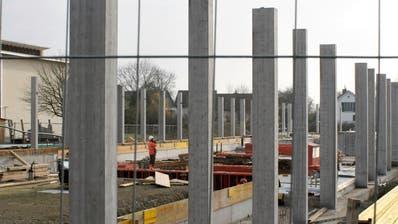 Die Bauarbeiten am Ersatzbau Letten sind im vollen Gange. (Bild: Dieter Ritter)