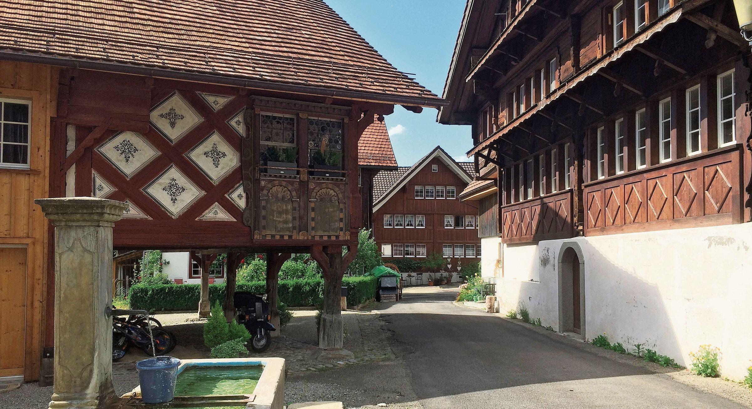 Der Weiler Burgau bei Flawil hat eine mehr als 1000-jährige Geschichte. (Bild: PD)